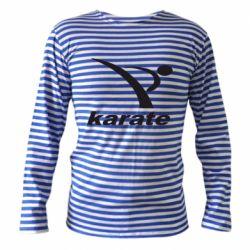 Тельняшка с длинным рукавом Karate - FatLine