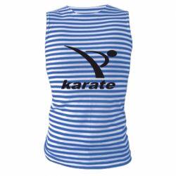 Майка-тельняшка Karate
