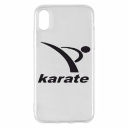 Чехол для iPhone X/Xs Karate