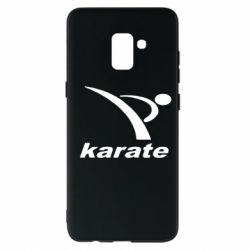 Чехол для Samsung A8+ 2018 Karate