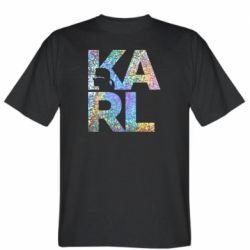 Чоловіча футболка Karl fashion designer