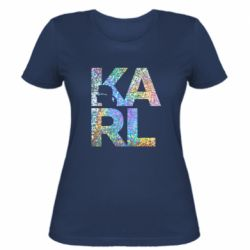 Жіноча футболка Karl fashion designer
