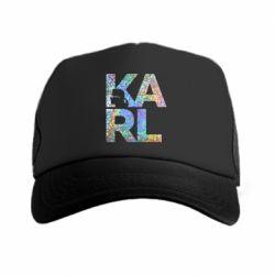 Кепка-тракер Karl fashion designer