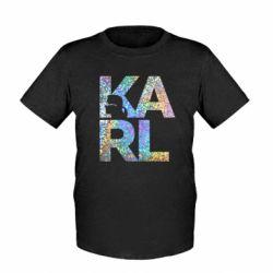 Дитяча футболка Karl fashion designer