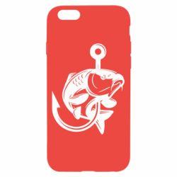 Чохол для iPhone 6/6S Карп на гачку