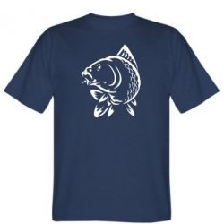 Мужская футболка Карп - FatLine