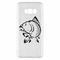 Чохол для Samsung S8 Карп - FatLine
