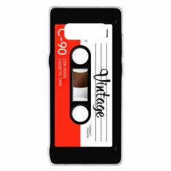 Чехол для Samsung Note 8 Vintage audio cassette - FatLine