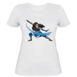 Женская футболка Катара