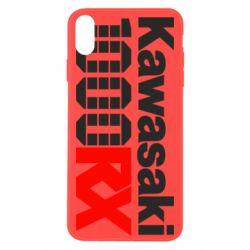 Чохол для iPhone Xs Max Kawasaki 1000RX