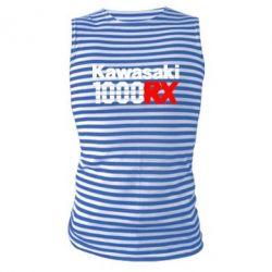 Майка-тельняшка Kawasaki 1000RX - FatLine