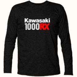 Футболка с длинным рукавом Kawasaki 1000RX - FatLine