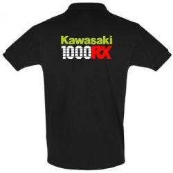 Футболка Поло Kawasaki 1000RX - FatLine