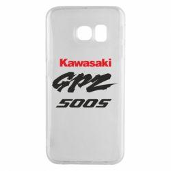 Чохол для Samsung S6 EDGE Kawasaki GPZ500S