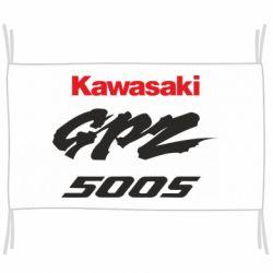 Прапор Kawasaki GPZ500S