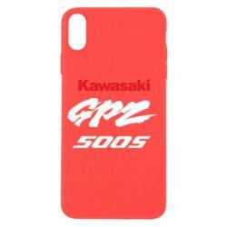 Чохол для iPhone X/Xs Kawasaki GPZ500S