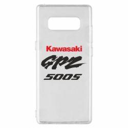 Чохол для Samsung Note 8 Kawasaki GPZ500S