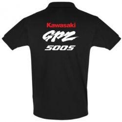 Футболка Поло Kawasaki GPZ500S - FatLine