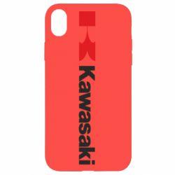 Чохол для iPhone XR Kawasaki Logo
