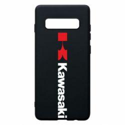 Чохол для Samsung S10+ Kawasaki Logo