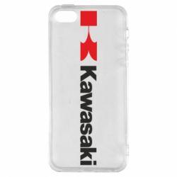 Чохол для iphone 5/5S/SE Kawasaki Logo