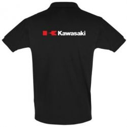Футболка Поло Kawasaki Logo - FatLine