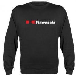 Реглан (свитшот) Kawasaki Logo - FatLine