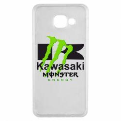 Чохол для Samsung A3 2016 Kawasaki Monster Energy
