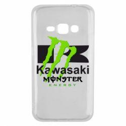 Чохол для Samsung J1 2016 Kawasaki Monster Energy