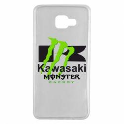 Чохол для Samsung A7 2016 Kawasaki Monster Energy