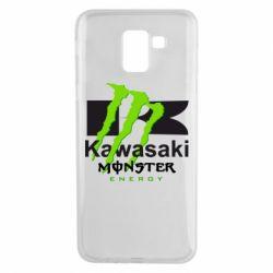 Чохол для Samsung J6 Kawasaki Monster Energy
