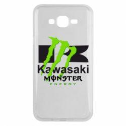 Чохол для Samsung J7 2015 Kawasaki Monster Energy