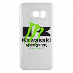 Чехол для Samsung S6 EDGE Kawasaki Monster Energy