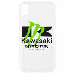 Чохол для iPhone XR Kawasaki Monster Energy