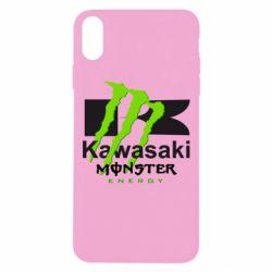 Чохол для iPhone Xs Max Kawasaki Monster Energy