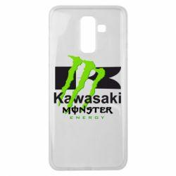 Чохол для Samsung J8 2018 Kawasaki Monster Energy