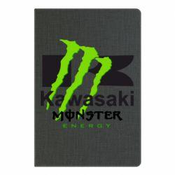 Блокнот А5 Kawasaki Monster Energy