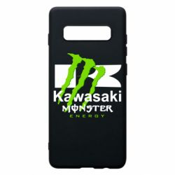 Чехол для Samsung S10+ Kawasaki Monster Energy