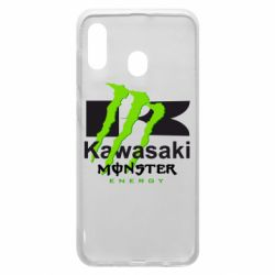 Чохол для Samsung A30 Kawasaki Monster Energy