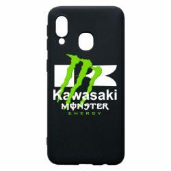 Чохол для Samsung A40 Kawasaki Monster Energy