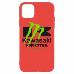Чохол для iPhone 11 Kawasaki Monster Energy