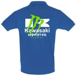 Купить Футболка Поло Kawasaki Monster Energy, FatLine
