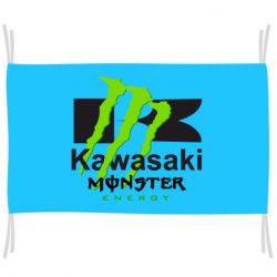 Прапор Kawasaki Monster Energy