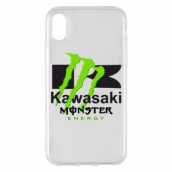 Чохол для iPhone X/Xs Kawasaki Monster Energy