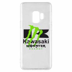 Чехол для Samsung S9 Kawasaki Monster Energy