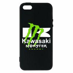 Чохол для iPhone 5 Kawasaki Monster Energy