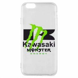 Чохол для iPhone 6 Kawasaki Monster Energy