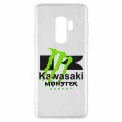 Чехол для Samsung S9+ Kawasaki Monster Energy