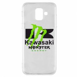 Чохол для Samsung A6 2018 Kawasaki Monster Energy