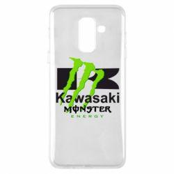 Чохол для Samsung A6+ 2018 Kawasaki Monster Energy